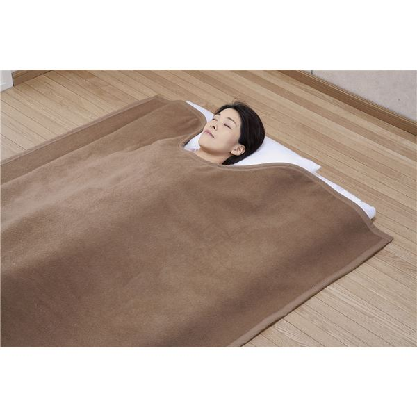 国産キャメル毛布(くりえり毛布) 【シングルサイズ】 140×230cm 日本製【代引不可】 送料込!