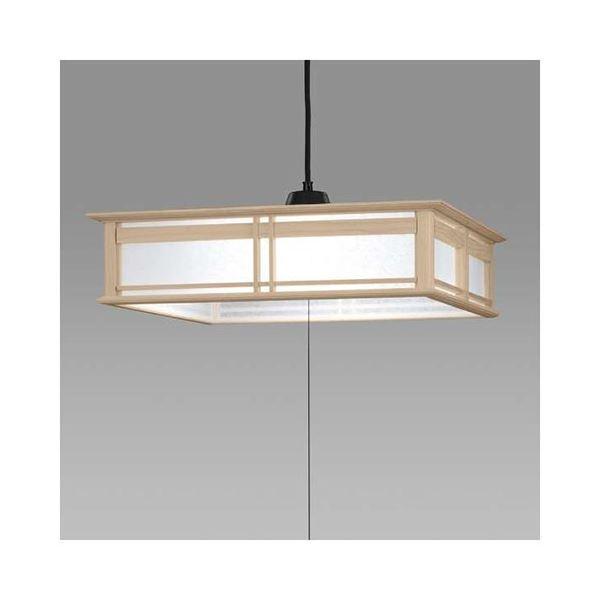 日立 LED和風木枠ペンダントライト~8畳 LEP-CA801EJ 送料無料!