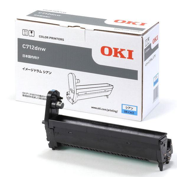 (業務用3セット) 【純正品】 OKI DR-C4CC イメージドラム シアン 送料無料!