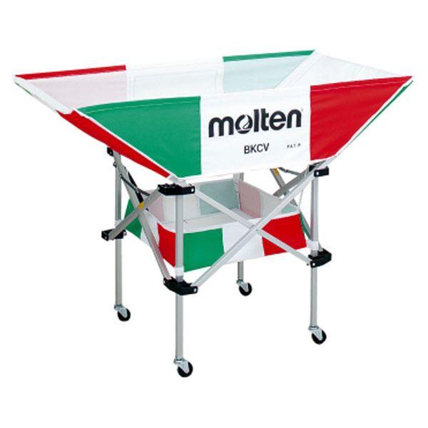 モルテン(Molten) 折りたたみ式平型軽量ボールカゴ(背低) イタリアン BKCVLIT 送料無料!
