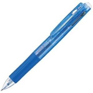 (業務用100セット) ZEBRA ゼブラ 多色ボールペン サラサ3 【0.5mm】 ゲルインク J3J2-BL 軸色青 送料込!
