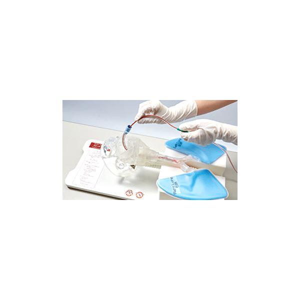 透明吸引説明模型/看護実習モデル「ミエールキュウイン」LED付き吸引チューブ付きM-175-1【】送料無料!