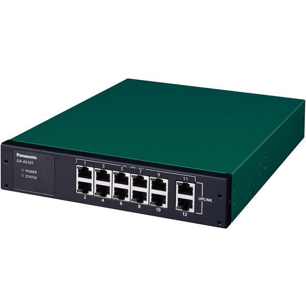 パナソニックESネットワークス 12ポート レイヤ2スイッチングハブ GA-AS10T PN25101 送料無料!