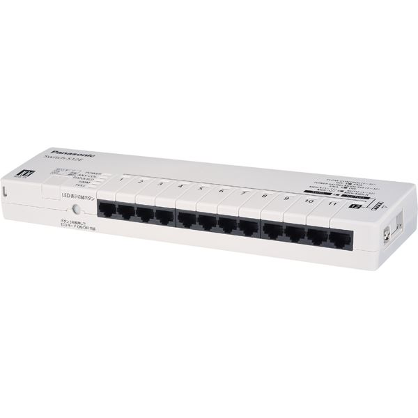 パナソニックLSネットワークス 12ポート レイヤ2スイッチングハブ Switch-S12E 送料込!