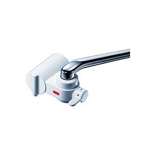 (まとめ) 三菱レイヨン シンプル浄水器 クリンスイ蛇口直結型 ホワイト CB013-WT 1個 【×5セット】 送料無料!