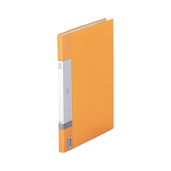 クリヤーファイル 固定式 まとめ リヒトラブ リクエスト 公式 クリヤーブック 送料込 クリアブック サイドベンツ 1冊 送料込 G3401-5 A4タテ 40ポケット ×30セット 黄 背幅16mm