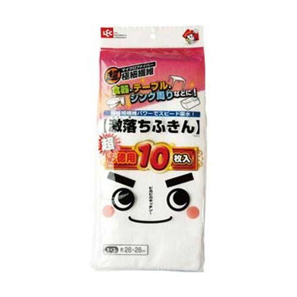 (まとめ)レック 激落ちふきん お徳用 S-415 1パック(10枚)【×20セット】 送料無料!