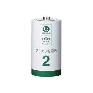 (業務用30セット) ジョインテックス アルカリ乾電池III 単2×10本 N212J-10P 送料込!