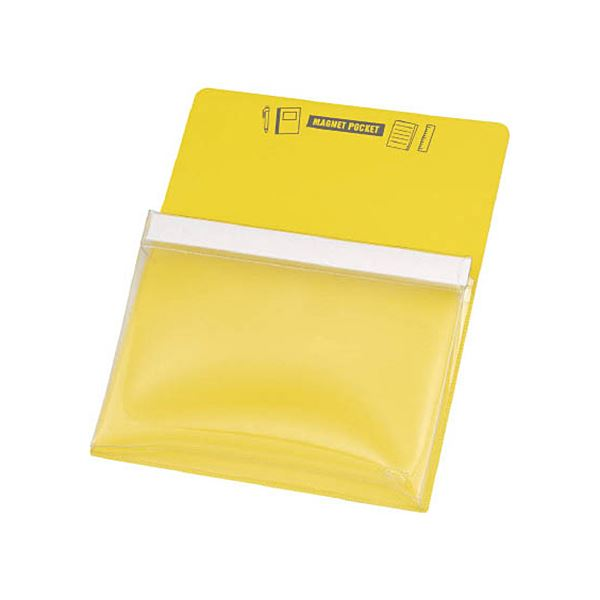 本物 マグネット製のポケットのため金属であればどこにでも貼り付け可能です まとめ TRUSCO マグネットポケットA4用黄 1枚 ×5セット MGP-A4-Y オーバーのアイテム取扱☆ 送料無料