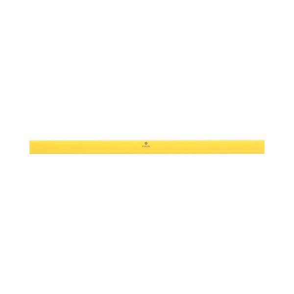(まとめ) TANOSEE マグネットバー W310mm 黄 1本 【×30セット】 送料無料!