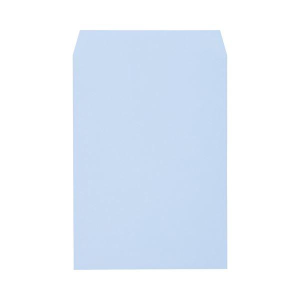 (まとめ) キングコーポレーション ソフトカラー封筒 角2 100g/m2 アクア K2S100A 1パック(100枚) 【×10セット】 送料無料!