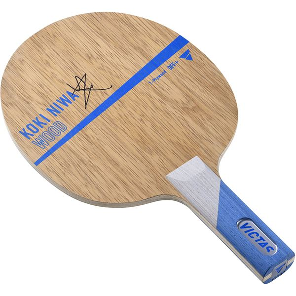 VICTAS(ヴィクタス) 卓球ラケット VICTAS KOKI NIWA WOOD ST 27205 送料無料!