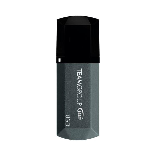(まとめ)TEAM USB2.0キャップ式USBメモリ8GB TC1538GB01【×30セット】 送料込!