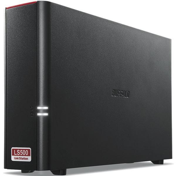 バッファロー LinkStation for SOHO LS510DNBシリーズ NAS用HDD搭載1ドライブNAS 3年保証 4TB LS510DN0401B 送料無料!