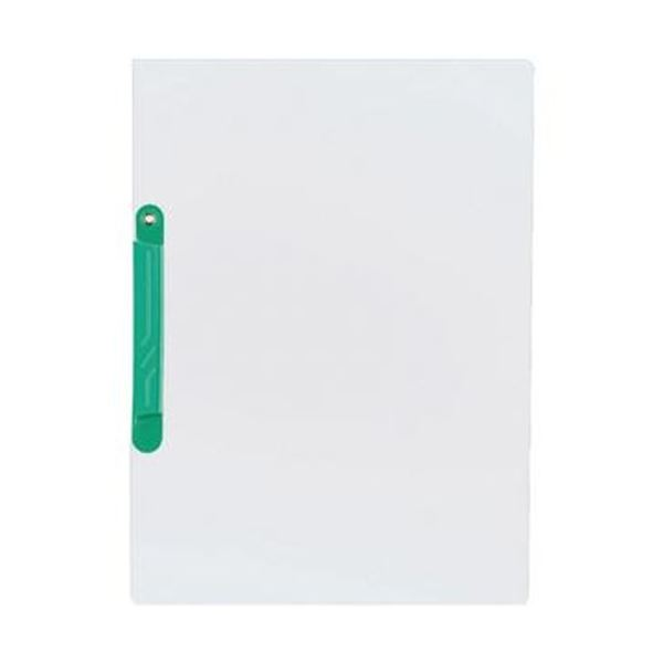 (まとめ)コクヨ イージークリップファイル再生PET A4タテ 20枚収容 緑 フ-TP790G 1セット(20冊:5冊×4パック)【×5セット】 送料無料!