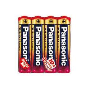 (業務用100セット) Panasonic パナソニック アルカリ乾電池 単4(4本) LR03XJ4SE 送料込!