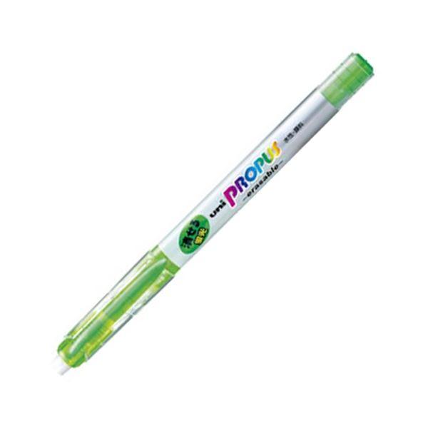 (まとめ) 三菱鉛筆 蛍光ペン プロパス・イレイサブル 緑 PUS151ER.6 1本 【×100セット】 送料無料!