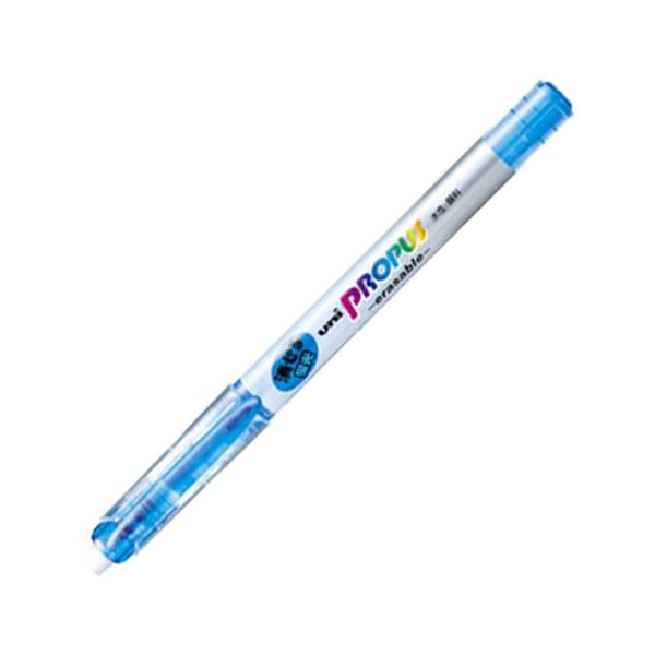 (まとめ) 三菱鉛筆 蛍光ペン プロパス・イレイサブル 空色 PUS151ER.48 1本 【×100セット】 送料無料!