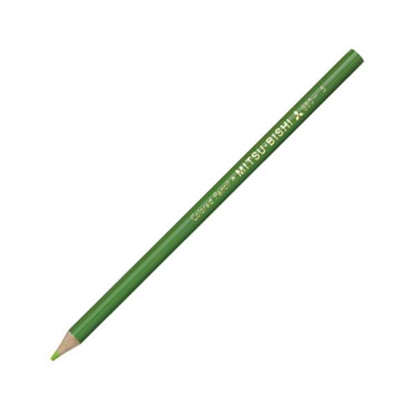 (まとめ) 三菱鉛筆 色鉛筆880級 きみどりK880.5 1ダース 【×30セット】 送料無料!