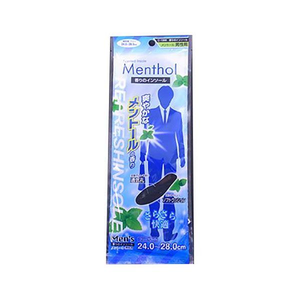 (まとめ) 香りのインソール/中敷き 【メントール 男性用】 24.0~28.0cm 【360個セット】 送料込!