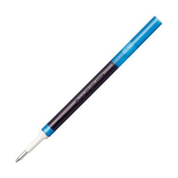 (まとめ)ぺんてる ゲルインキボールペン ノック式エナージェル インフリー 替芯 0.7mm ブルー XLR7TL-C 1セット(10本)【×20セット】 送料無料!