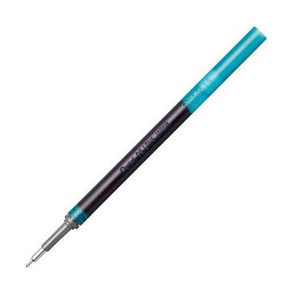 (まとめ)ぺんてる ゲルインキボールペン ノック式エナージェル インフリー 替芯 0.5mm ターコイズブルー XLRN5TL-S3 1セット(10本)【×20セット】 送料無料!