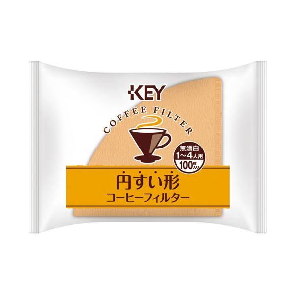 (まとめ)キーコーヒー 円すい形コーヒーフィルター 100P【×50セット】 送料込!