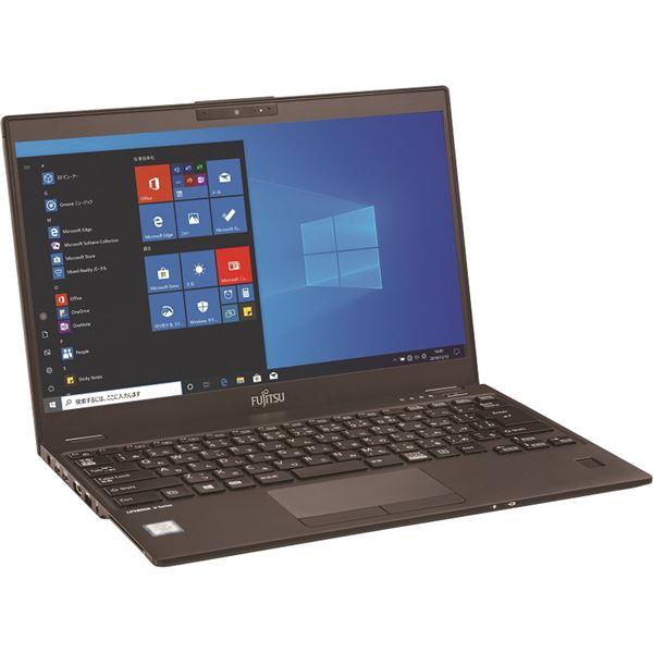 FUJITSU LIFEBOOK U9310/DX (Corei7-10610U/8GB/SSD512GB/Win10 Pro 64bit/無線WAN/指紋認証/Office Home &Business 2019) FMVU2801FP 送料込!