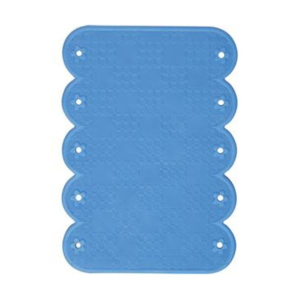 (まとめ)ワイズ スベリを防ぐ手すりマット20×28cm ブルー BW022 1枚【×20セット】 送料無料!