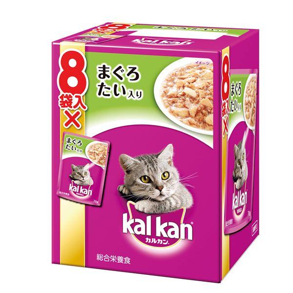 (まとめ)カルカン パウチ 1歳から まぐろとたい 70g 8袋パック (ペット用品・猫フード)【×20セット】 送料無料!
