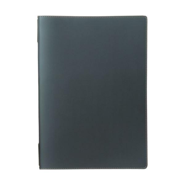 (まとめ) プロッシモ リサイクルレザーグランドメニュー ブラック PROSRLGMBK 1冊 【×5セット】 送料無料!
