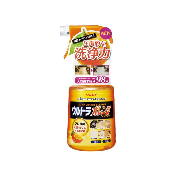 (まとめ)リンレイ ウルトラオレンジクリーナー 700mL【×30セット】 送料込!