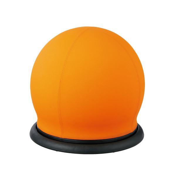 CMC スツール型バランスボール オレンジ BC-B 送料込 回転 春の新作続々 OR 価格