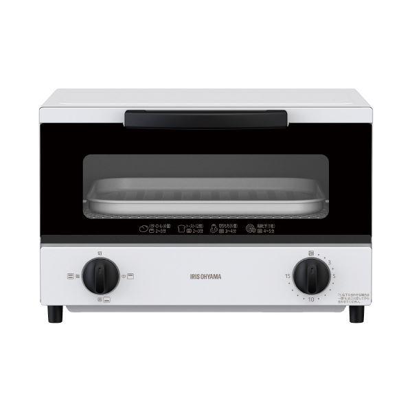 (まとめ)アイリスオーヤマ オーブントースター 4枚焼き EOT-032-W(×3セット) 送料込!