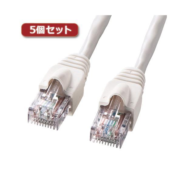 5個セット サンワサプライ UTPエンハンスドカテゴリ5ハイグレード単線ケーブル KB-10T5-10NX5 送料無料!