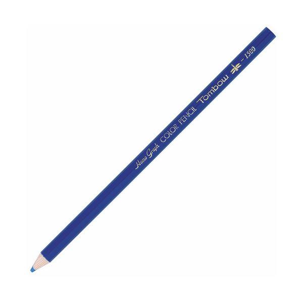 (まとめ) トンボ鉛筆 色鉛筆 1500単色 あお1500-15 1箱(12本) 【×30セット】 送料無料!