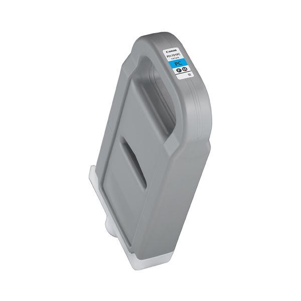 キヤノン インクタンクPFI-701PC 顔料フォトシアン 700ml 0904B001 1個 送料無料!