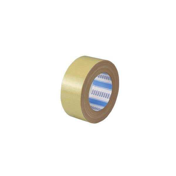 (まとめ)セキスイ 布テープ No.600 50mm×25m 黄土 30巻【×5セット】 送料込!