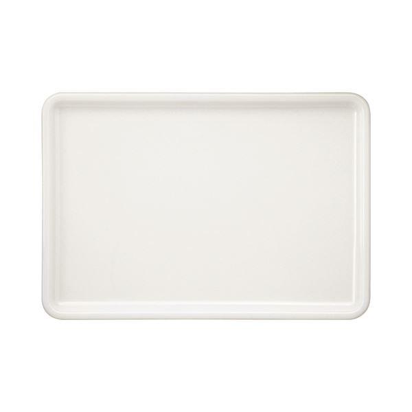 永山樹脂 トレー 角 ホワイト 400×280mm NJ-W03 1枚 【×10セット】 送料無料!