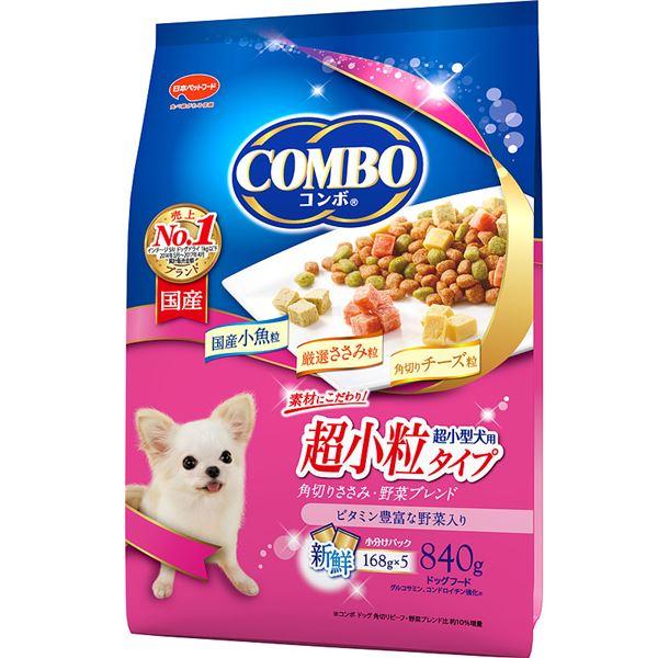 (まとめ)コンボ ドッグ 超小型犬用 角切りささみ・野菜ブレンド 840g【×12セット】【ペット用品・犬用フード】 送料込!