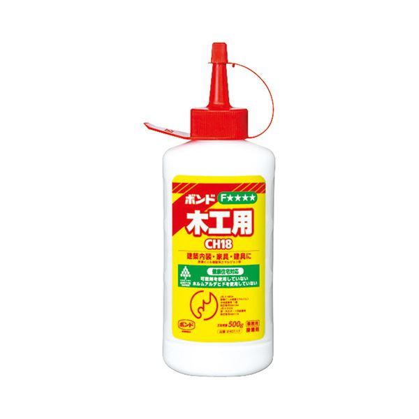 (まとめ) コニシ 木工用ボンド CH18 500g #40117 1本 【×30セット】 送料込!