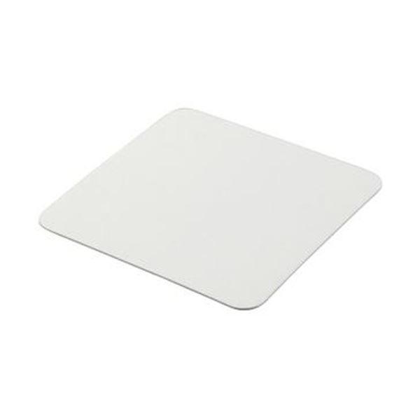 (まとめ)TANOSEE ペーパーコースター無地(角)厚さ1mm 1パック(100枚)【×20セット】 送料無料!