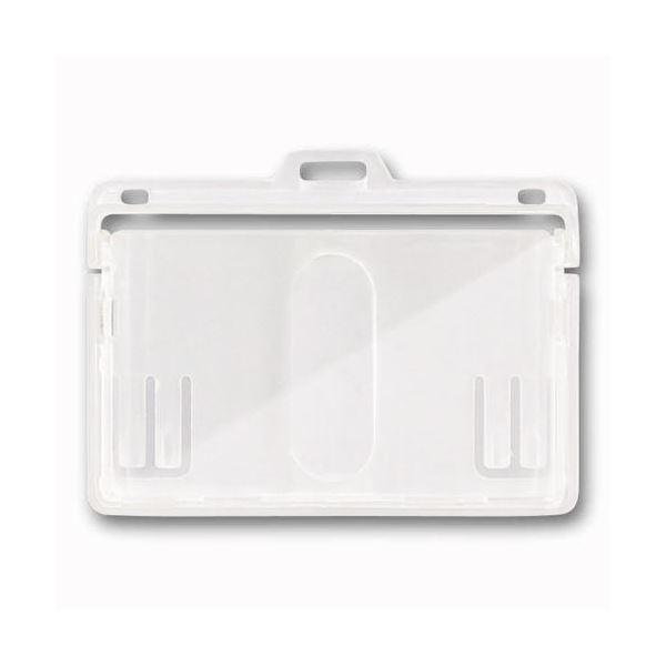 (まとめ) ソニック IDカード用ケース2枚収納タイプ ハード NF-573-1 1枚 【×50セット】 送料無料!