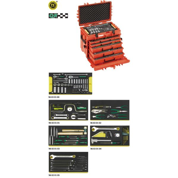 STAHLWILLE(スタビレー) 13214WT/LR 航空機整備工具セット (98814900) 送料込!