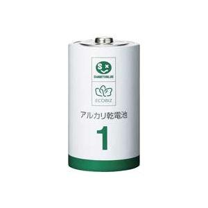 (業務用30セット) ジョインテックス アルカリ乾電池III 単1×10本 N211J-10P 送料込!
