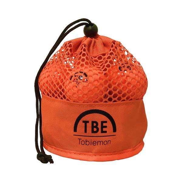 12個セット TOBIEMON 2ピース カラーボール メッシュバック入り オレンジ TBM-2MBOX12 送料無料!
