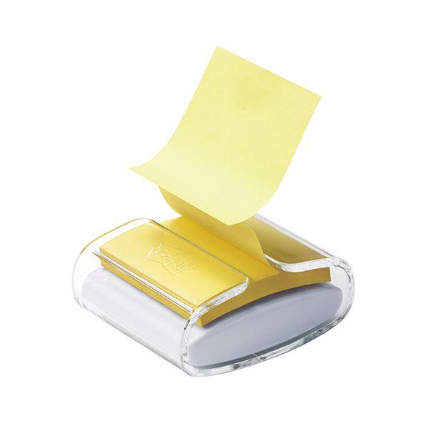 SALE 詰替�簡��コンパクト�スタイリッシュ�ディスペンサー イエロー���ん付 ��� 3M �スト イット強粘��ップアップノート ディスペンサー 75×75mm �料無料 リフィル1冊付 希望者��ラッピング無料 イエロー ×10セット WD330-WH-Y1パック