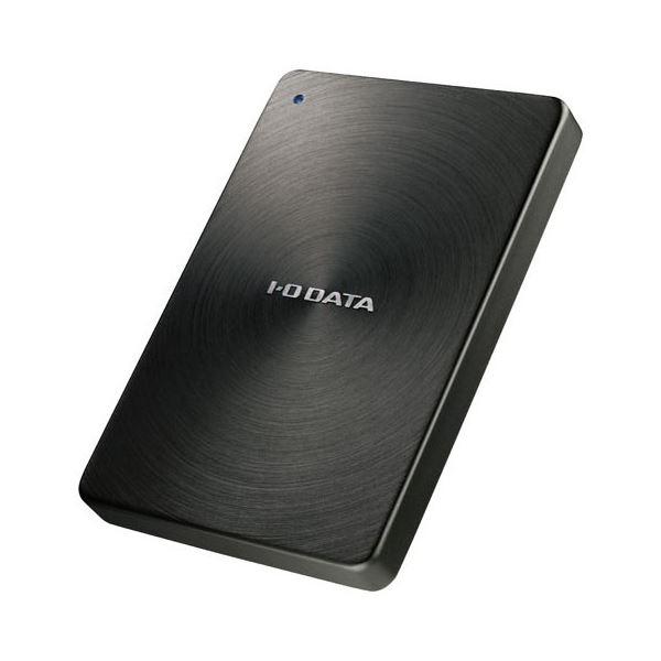 アイオーデータ USB3.0/2.0対応 ポータブルハードディスク「カクうす」 2.0TB ブラック HDPX-UTA2.0K 1台 送料無料!
