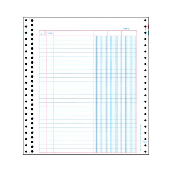 (まとめ) オービック バインダー元帳 Y10×T11 連続用紙 4024 1箱(1000枚) 【×5セット】 送料込!
