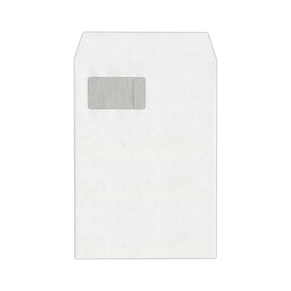 ハート 透けない封筒 ケント グラシン窓テープ付 A4 XEP730 1セット(500枚:100枚×5パック) 送料無料!